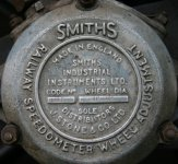 Smith's Railway Speedometer Wheel 