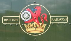 British Railways late crest (1956-68),