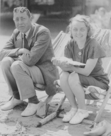 Charles Bernard Palmer and wife Ena 1933