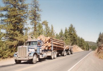 Gary Snyder why log truck drivers