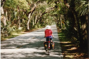 05J. Dixie Highway, Florida - A delightful road leading to the town of Ormand Beach.