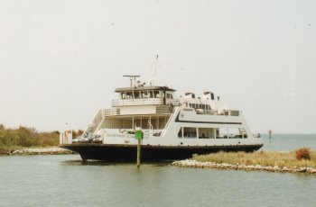 14J. North Carolina - The ferry from the mainland to the Outer Banks.