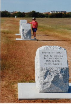 18J. Outer Banks - Orville Wright made the first powered flight here that changed the world.