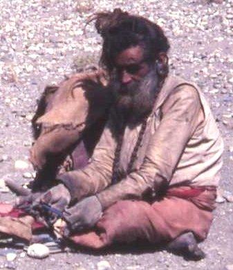 1982 roadless Annapurna Circuit, Nepal